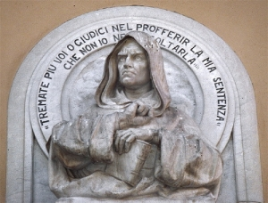 La massoneria ne fece un simbolo della lotta alla Chiesa
