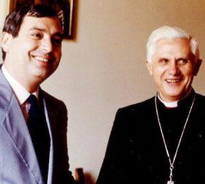Messori con lallora card. Ratzinger nel 1984.