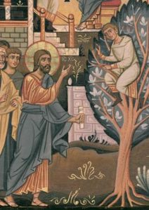 Gesù chiama Zaccheo.
