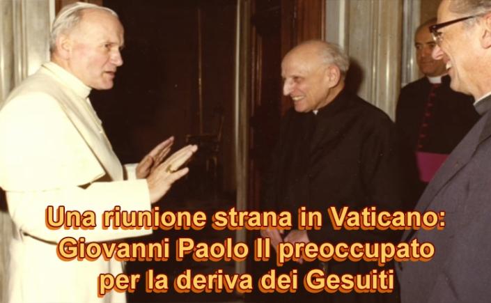 Risultati immagini per Giovanni Paolo II gesuiti