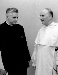 I periti conciliari Ratzinger e Congar.