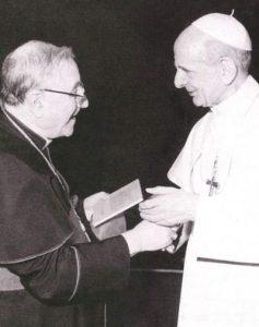 Il card. Siri ebbe un rapporto sofferto con Paolo VI.