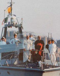Visita pastorale di Giovanni Paolo II a Genova nel 1985.