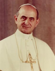 Paolo VI. Chiuse il concilio nel dicembre del 1962.