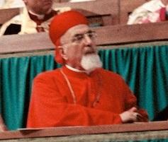 Massimo IV Saigh durante una sessione del Vaticano II.