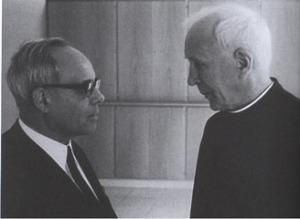 I gesuiti Rahner e de Lubac.