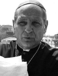 Paul Marcinkus, presidente dello IOR dal 1971 al 1989. Rimase invischiato nel crack Banco Ambrosiano. Si