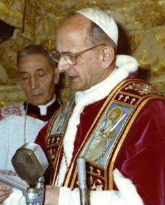 Padre Calmel morì sotto il pontificato di Paolo VI.