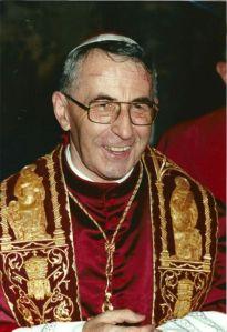 """Giovanni Paolo I, il """"papa di settembre""""."""