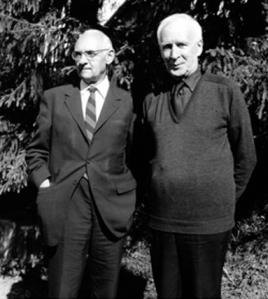 Hans Urs von Balthasar e Henri de Lubac.