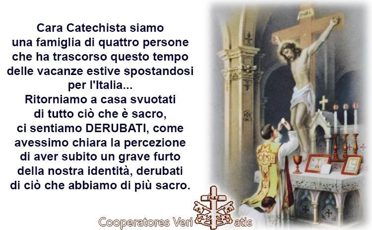 Il grave disagio dei veri poveri per le Messe non più cattoliche