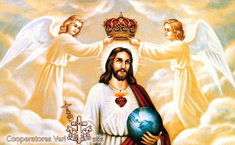 Consacrazione del genere umano a Cristo Re (testo originale Leone XIII)