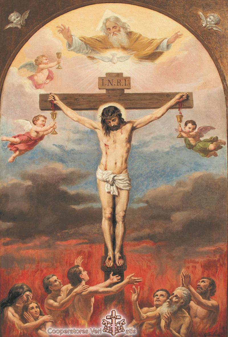 Ti Adoro Croce Santa per liberare le Anime dal Purgatorio ...