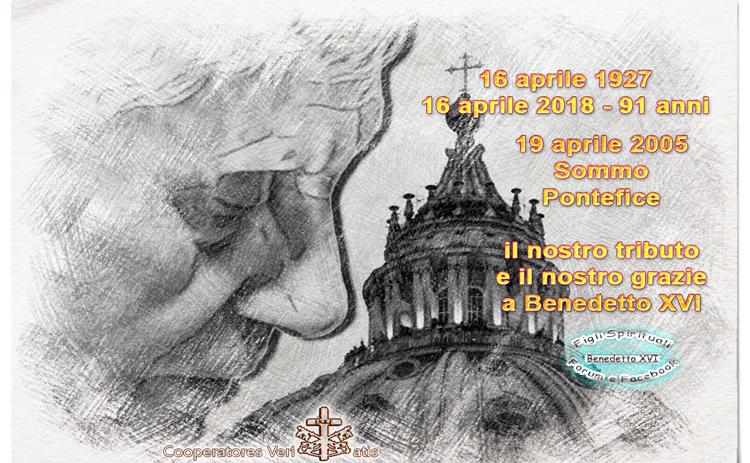 Sonetto per Papa Benedetto – 16 e 19 aprile 2018