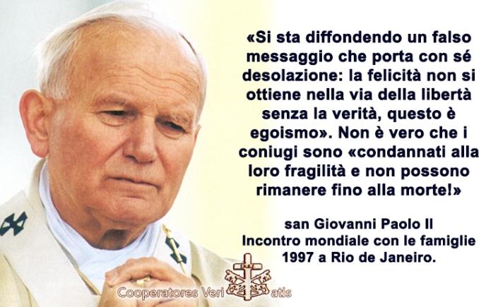 Giovanni Paolo Ii E Mons Sheen In Difesa Del Matrimonio E Della