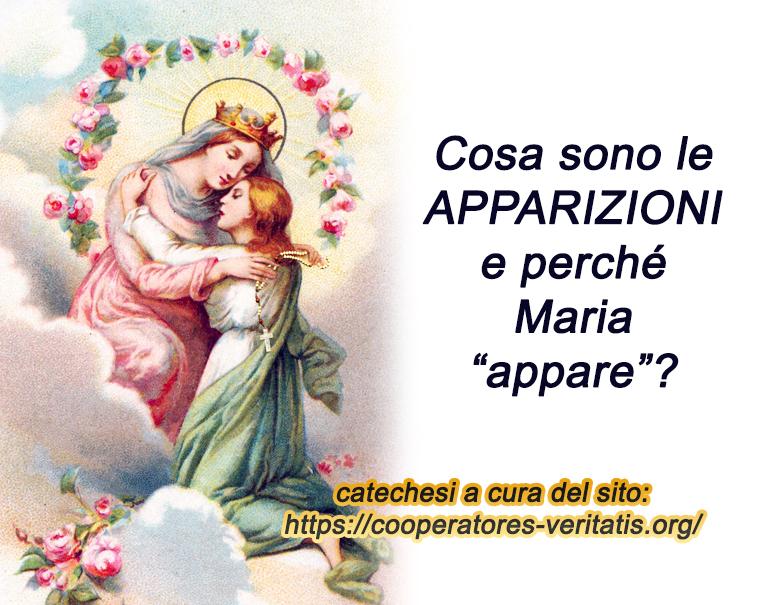 """Che senso hanno le """"apparizioni"""" mariane?"""