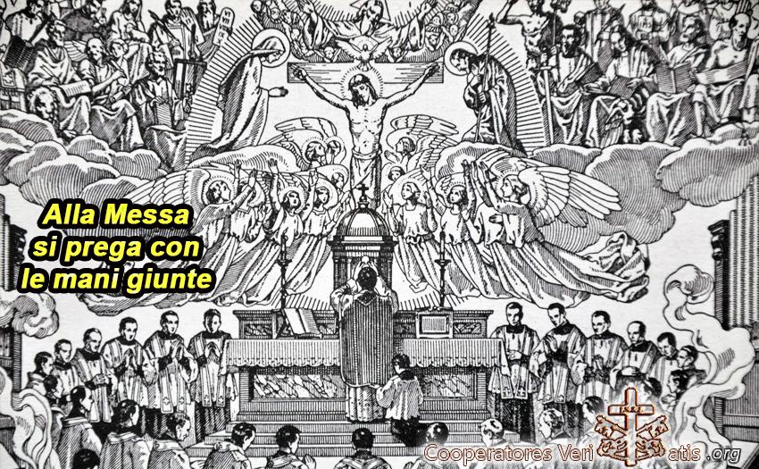 Come recitare il Padre Nostro nella Messa?