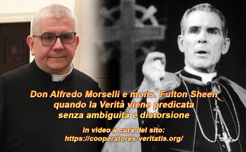 Don Morselli: Il modernismo non sopporta il Gesù storico…