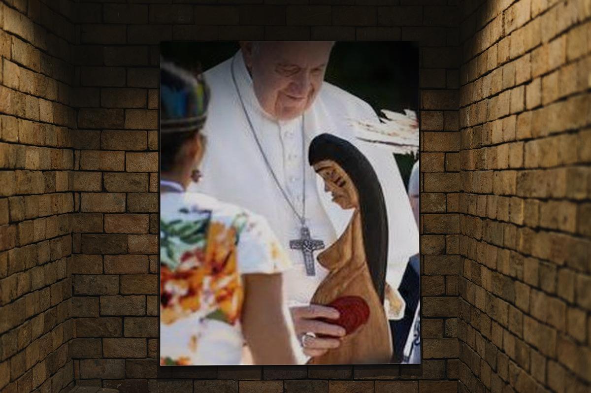 Dalla Pachamama a Gesù e Maria meticci. Quando si calpesta il Dogma, tutto è possibile.