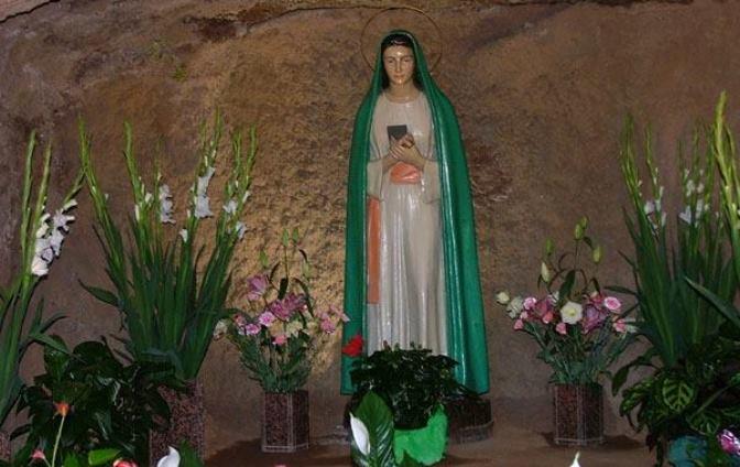 12 gradini Vergine della Rivelazione per gli incurabili e le pandemie