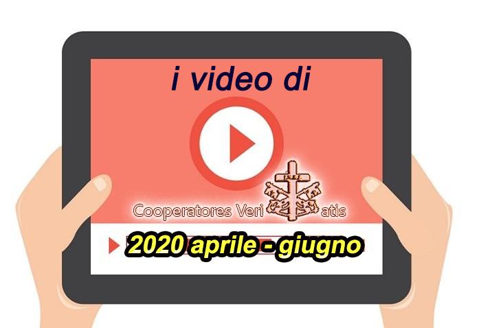 Riepilogo video di CV aprile-giugno 2020