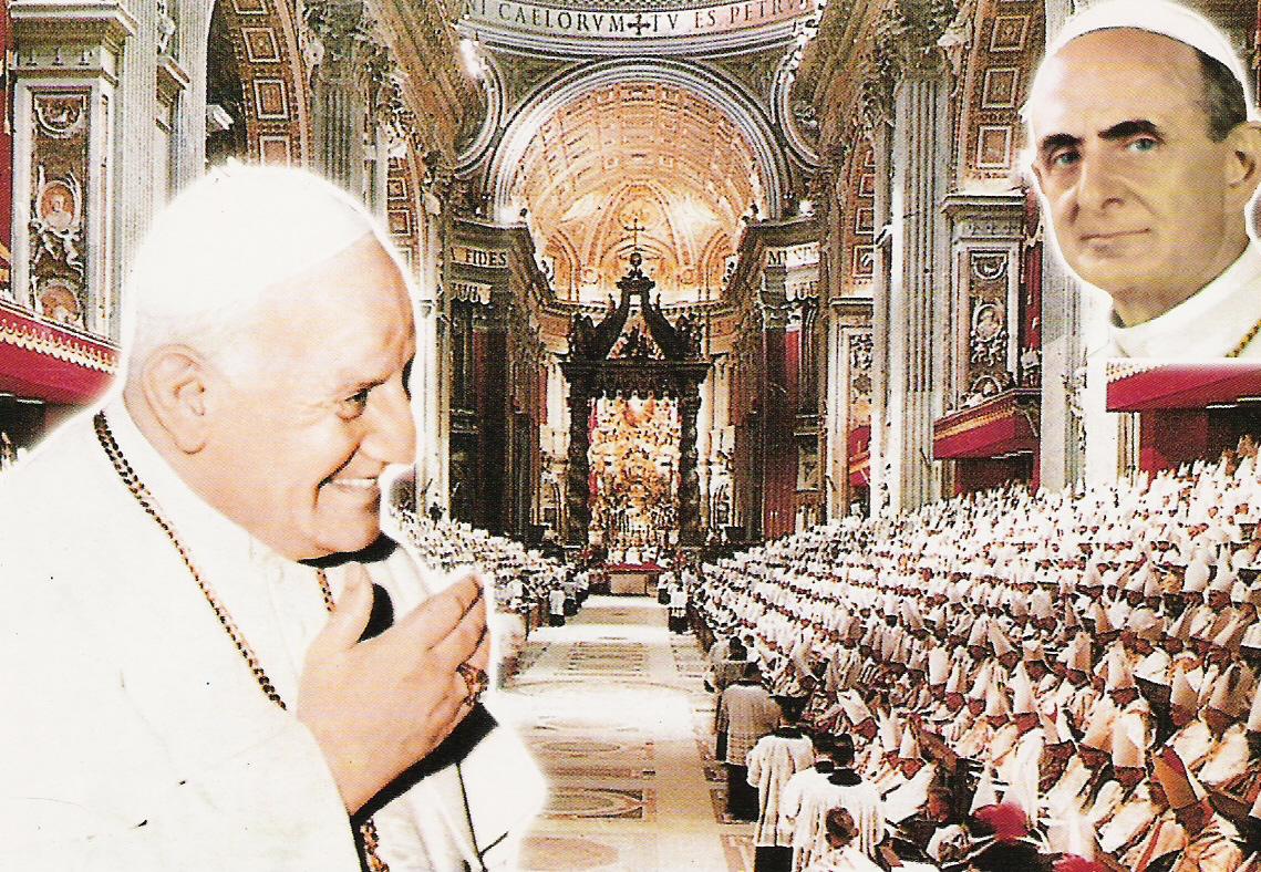 La santa spallata di Viganò al Vaticano II