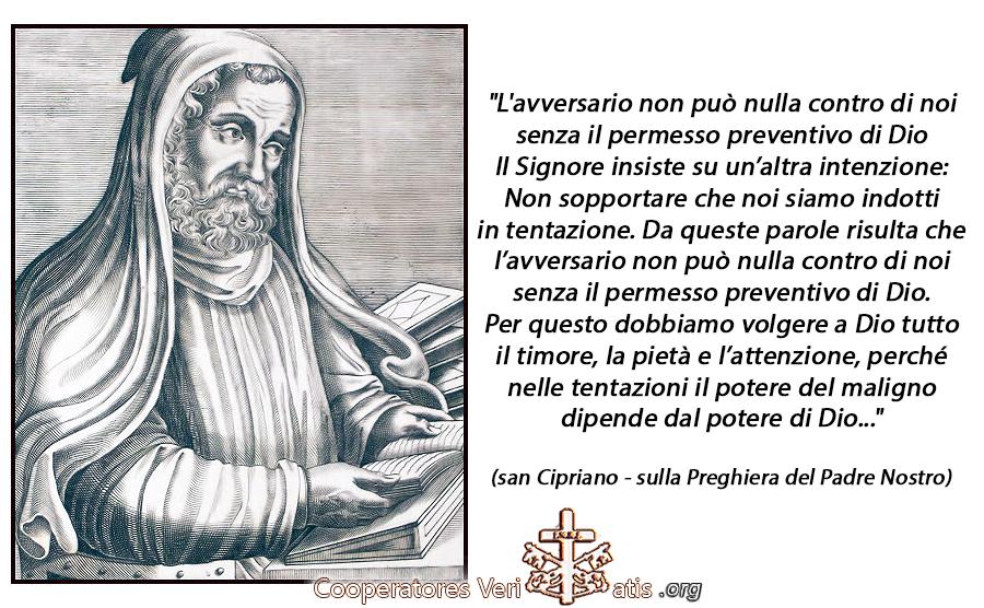 San Cipriano spiega il significato della Preghiera del Padre Nostro