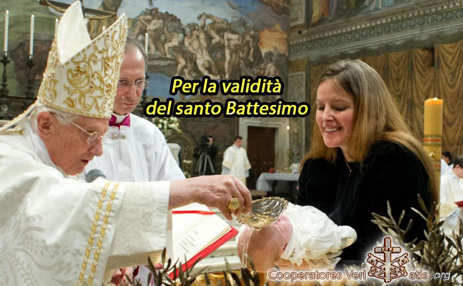 """""""Responsum"""" CdF ad un dubbio sulla validità del Battesimo – 6.10.2020"""