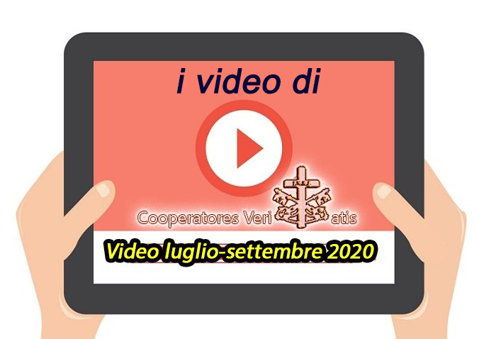 Riepilogo video di CV luglio-settembre 2020