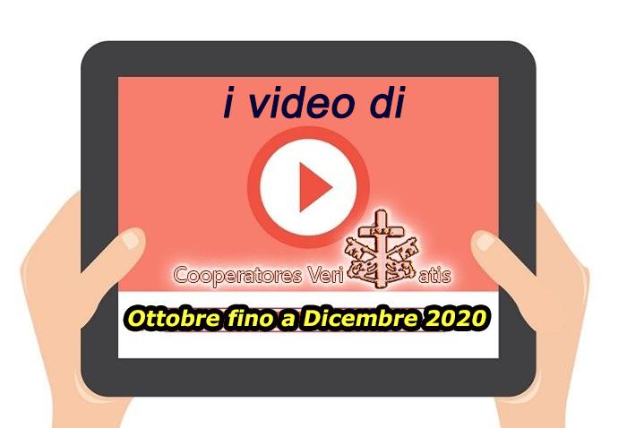 Riepilogo video di CV ottobre-dicembre 2020