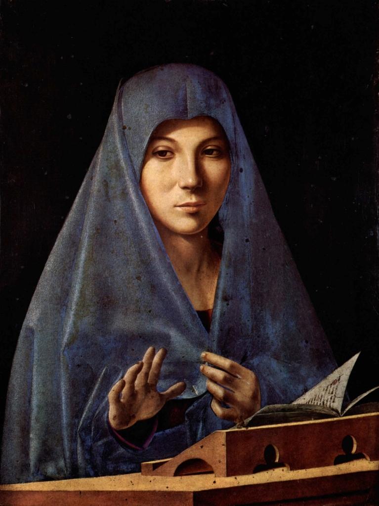 La Vergine Annunziante (Antonello da Messina