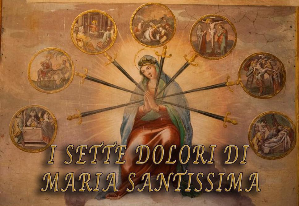 I sette dolori di Maria SS.ma, Mater Dei et Ecclesiae