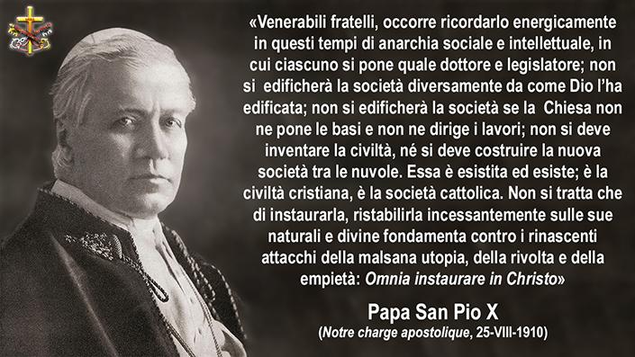 """La Notre charge apostolique. Quando San Pio X condannò in anticipo lo """"spirito del Vaticano II""""…"""